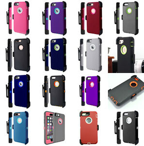 newest 45773 4b13b Details about Wholesale Lot iPhone 8 Plus Case Cover(Belt Clip fits  Defender series)
