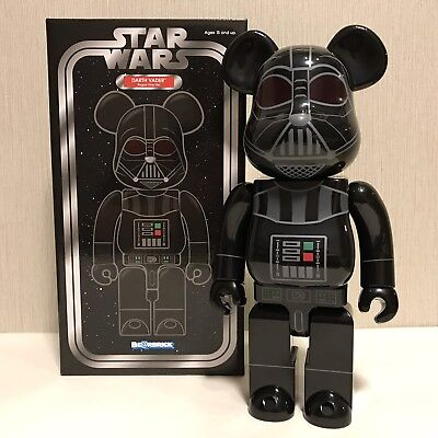 2017 Medicom Star Wars Darth Vader Rogue One Ver 100/% Bearbrick Be@rbrick 1pc
