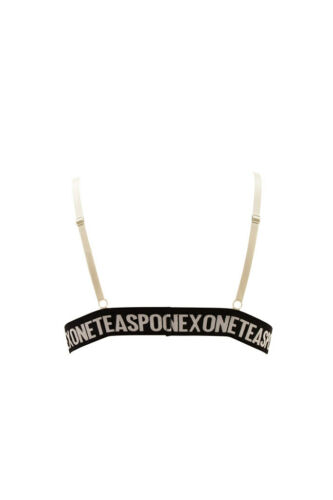 One Teaspoon Womens 20589B Bralette Skinny /& Slim White Size S