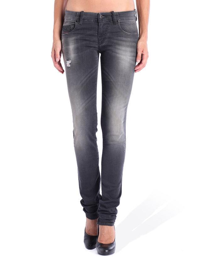 Diesel Grupee-ne slim low waist women jeans 0835B tag size W31