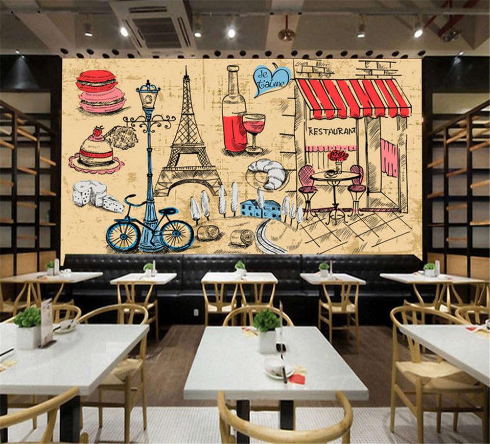 Orderly West Stuff 3D Full Wall Mural Photo Wallpaper Printing Home Kids Decor