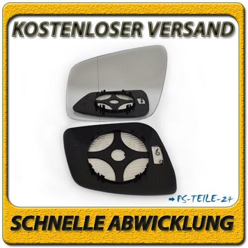 Vidrio pulido para Mercedes clase B w245 Facelift 08 izquierdo asphärisch Indutherm