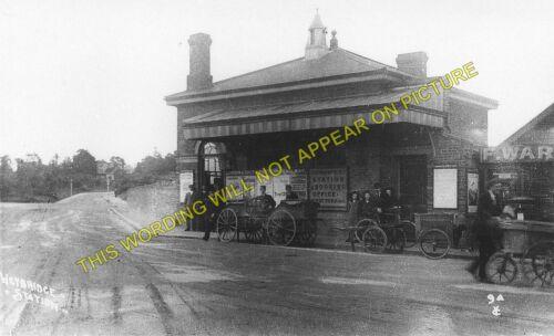 Walton Esher to Woking L/&SWR . Weybridge Railway Station Photo Byfleet 3