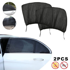 2-Pack-Rear-Auto-Sun-Shade-Window-Screen-Cover-Sunshade-Protector-For-Car-Truck
