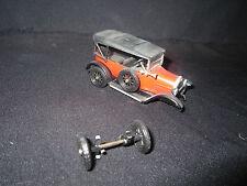 U278 RIO 1/43 Fiat modèle 501 POUR PIECES PONT AVANT CASSE
