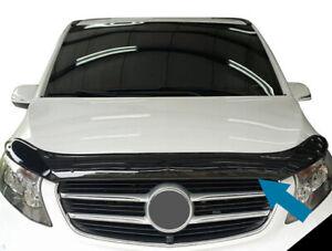 Bonnet Hood Trim Protector Guard Wind Deflector To Fit Mercedes-Benz Vito (15+)