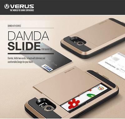 New VERUS Damda Slide Card slot Cover Case for Samsung Galaxy S6