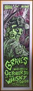 GRAVES,Halloween Show Poster,whisky ago-go,Dr.Chud,Michale Graves,Misfits,X-Ward