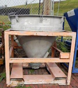 Details about Plastics compound mixing vat  Aluminum  Used  Industrial  Processing Equipment