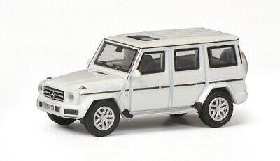 Neu diamantweiß Schuco 26397-1//87 Mercedes-Benz G-Modell