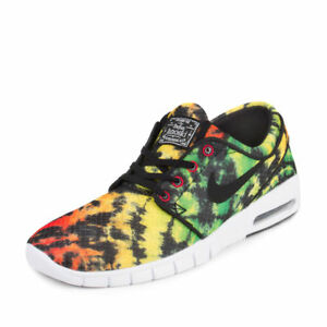 low priced 3ed38 f6f68 Image is loading Nike-Stefan-Janoski-Max-PRM-Tour-Yellow-Black-