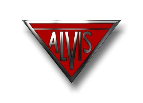 """Alvis Automobiles 6/"""" Vinyl Decal Crested Silver Eagle TA 21 TD 21 Cars Sticker"""