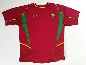 Equipe Du Portugal Pauleta N 10 Nike Maillot Football Porte Worn