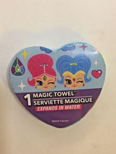 Magic Towel Wash Cloths Disney Princess Little Mermaid Ariel Shimmer /& Shine