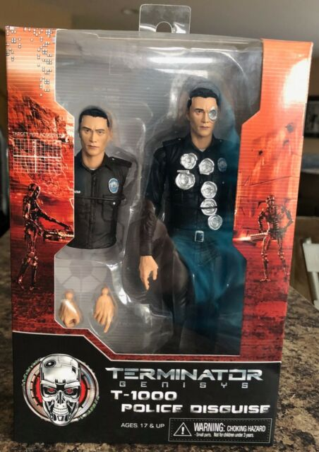 TERMINATOR GENISYS T-1000 Police Disguise - new neca