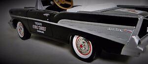 1957-Chevy-Pedal-Car-Fire-Vintage-BelAir-SL-Grille-Metal-gt-gt-READ-FULL-DESCRIPTION