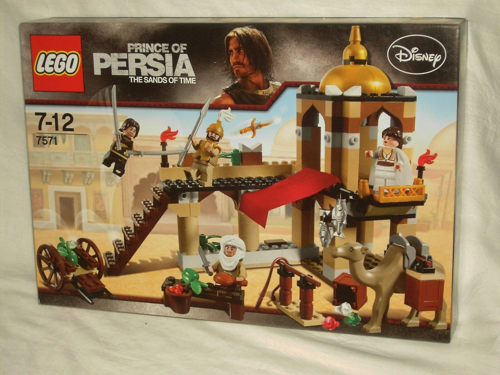 LEGO PRINCE OF PERSIA 7571 - THE FIGHT FOR THE DAGGER        NEW AND SEALED