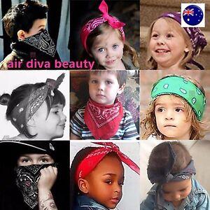 Image is loading Girl-Kids-Children-Retro-Hip-hop-Cotton-Paisley- f33f1ba5800