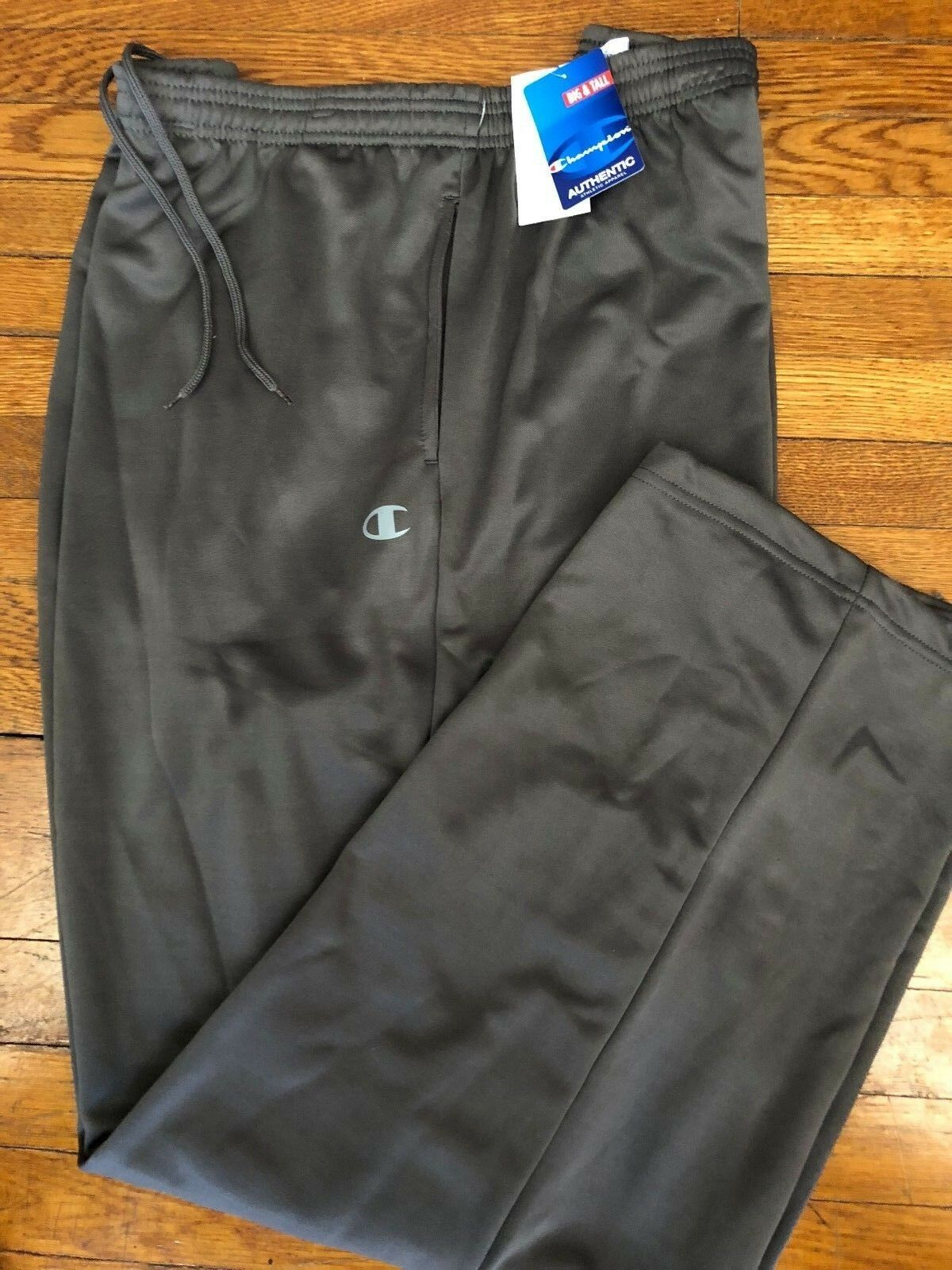 NWT CHAMPION GREY PERFORMANCE SWEATPANTS SZ 4XL 4X