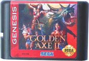 Golden Axe 2 (1991) 16 Bit Game Card For Sega Genesis / Mega Drive System