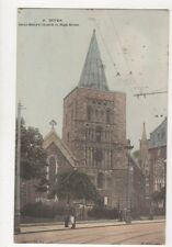 Dover Saint Marys Church In High Street 1907 Postcard 735a