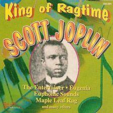 Scott Joplin King of ragtime (15 tracks) [CD]