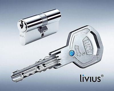 2er Set BKS Livius Profilzylinder  Schließzylinder gleichschließend Kopieschutz
