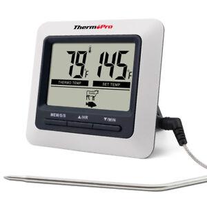 ThermoPro-Digital-Food-Fleisch-Kochen-Thermometer-fuer-BBQ-Grill-Ofen-Smoker