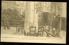 France, Chateau-Thierry, Church Ransacked by the Germans, WWI(pre20(militaryJ#67