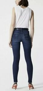 AG-Adriano-Goldschmied-Womens-High-Rise-The-Farrah-Skinny-Jeans-Size-27R