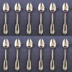 SET OF TWELVE - Oneida Stainless CLASSIC SHELL Teaspoons ~ NEW
