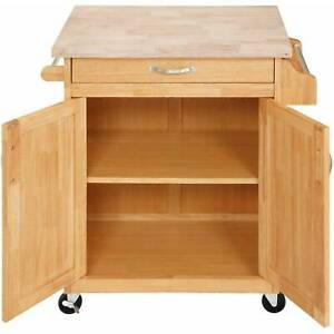 Bakers-Table-Butcher-Block-Style-Solid-Wood-Top-Kitchen-Cart-White-Natural-Mobil