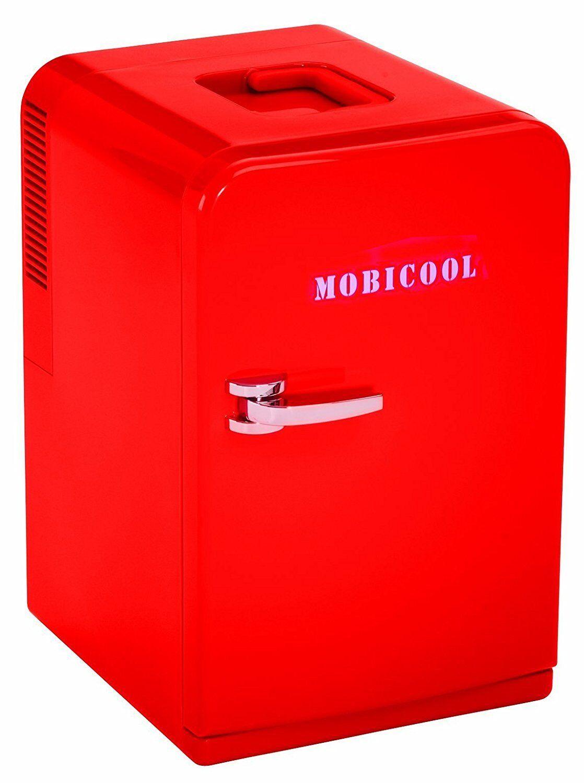 NEU Mobicool F15 Thermoelectric Mini Fridge Red Rot 14L 12V + 230V 14 Liter