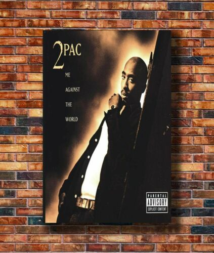 Hot Gift 20x30 24x36in Poster W729 Art Tupac 2pac Me Against The World Rap