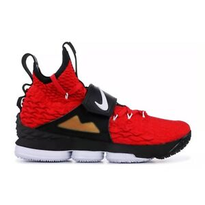 ca780aec7f Nike LeBron 15 XV Red Diamond Turf Prime Deion Sanders AO9144-600 ...