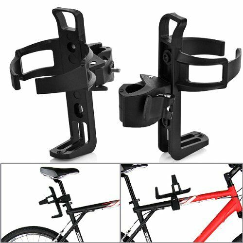 "Bicycle Beverage Water Bottle Drink Cup Holder Quick Release for 2/"" Handle Bar"