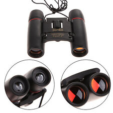 Day Night Vision 30 x 60 Zoom Travel Hunting Folding Binoculars Telescope+Case