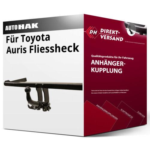 Für Auris Fliessheck Typ E18 Auto Hak Anhängerkupplung horizontal abnehmbar