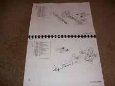 Hymac 580C parti manuale usato buone condizioni include COLLETTORE idraulico