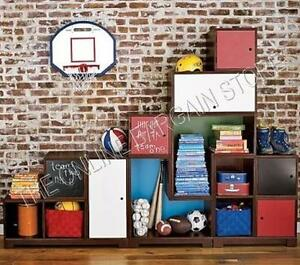 Pottery Barn Kids Cameron Puzzle Wall system Cubby storage unit ...