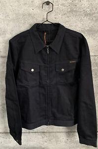Nudie-Jeans-Indigo-Denim-Kenny-Zip-Jacket-Size-XL-NWT-RARE