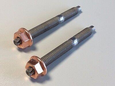 Kupfermutter M8 SW 13 Bund 10 Stück Torx Stehbolzen M8x80 8.8