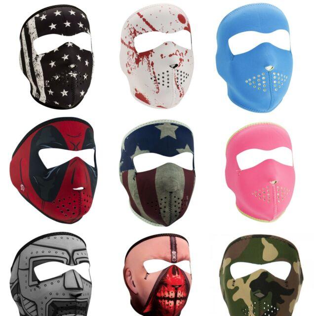 Zan HeadGear Neoprene Full Face Mask Knight Armor Metal Helmet WNFM069