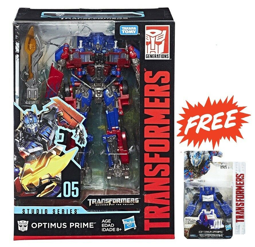 HASBRO TRANSFORMERS STUDIO SERIES 05 VOYAGER CLASS OPTIMUS PRIME FIGURE & GIFT
