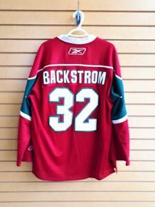 Chandail de hockey Reebok NHL Official Classic WILD MInnesota BACKSTROM no.32 (A029932) Canada Preview