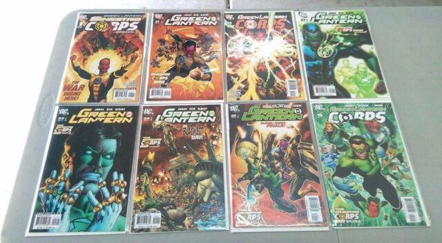 DC Comics Green Lantern Corps 10 issues SINESTRO CORPS WAR (2007)