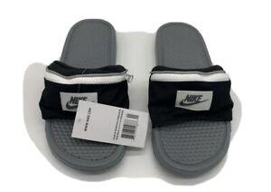 Observación Llevar tablero  Nike Benassi JDI Fanny Pack Black Slides Sandals AO1037-001 Men's Size 7  885176559916 | eBay