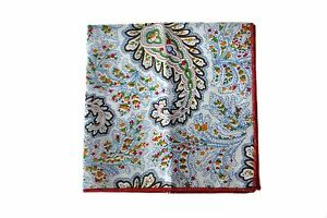 Frederick-Thomas-white-amp-multicoloured-paisley-pocket-square-handkerchief-FT2135