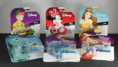 Series 2 Complete your Set! New 2019 Hot Wheels Disney Character Cars