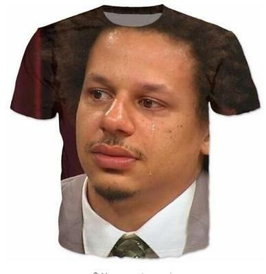 New Fashion Womens//Mens Eric Andre Funny 3D Print Casual T-Shirt plus size RA14